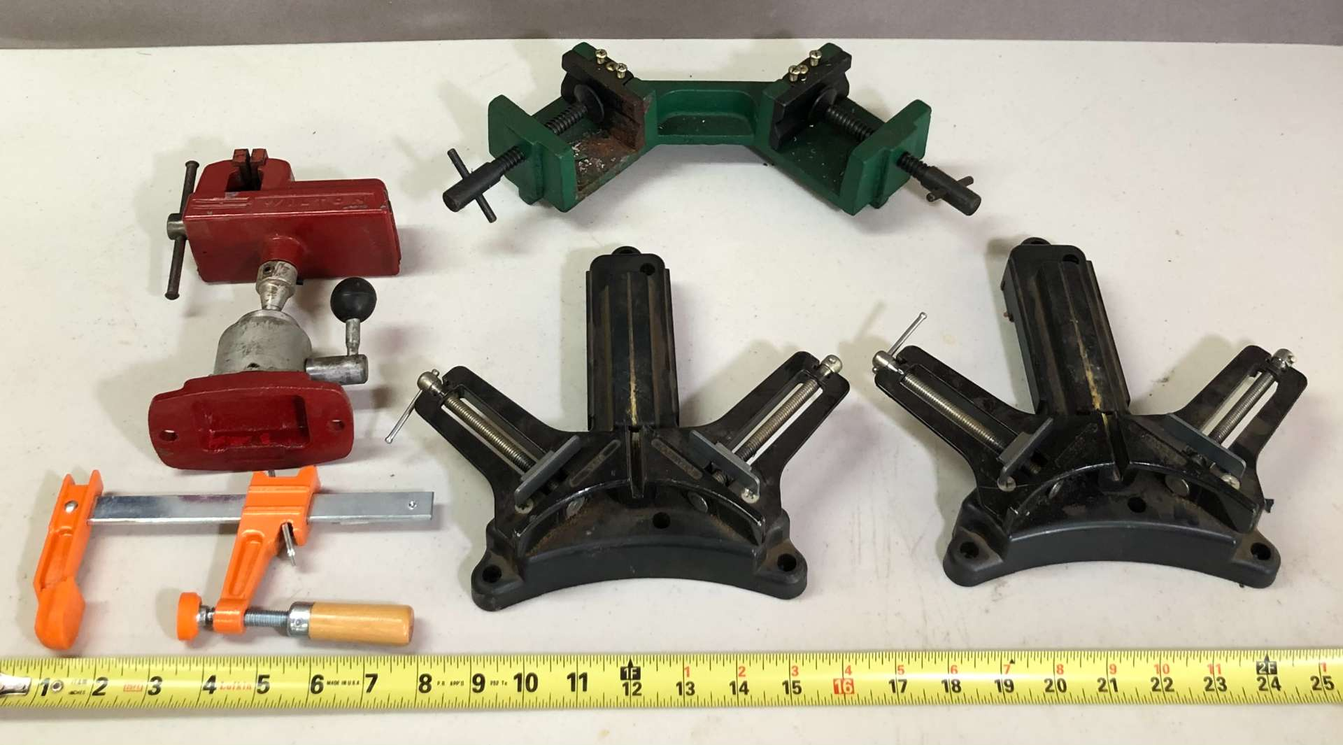 Lot # 169 - Lot of Various Clamps and Vice (main image)