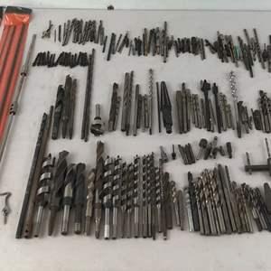 Lot # 178 - Large Lot of Drill Bits