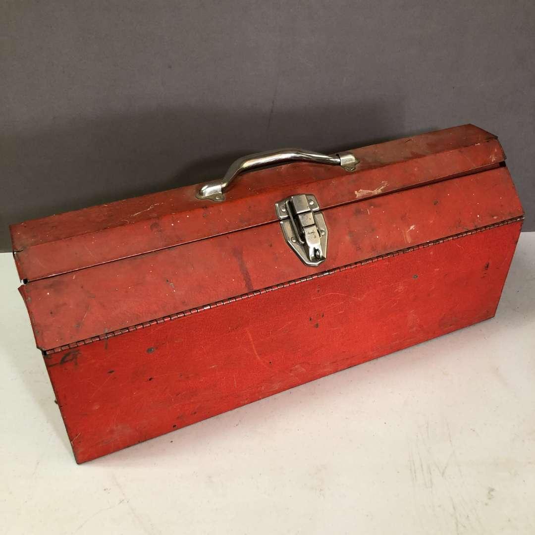 Lot # 179 - Red Toolbox (main image)