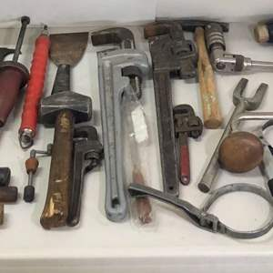 Lot # 184 - Large Collection of Various Large Tools