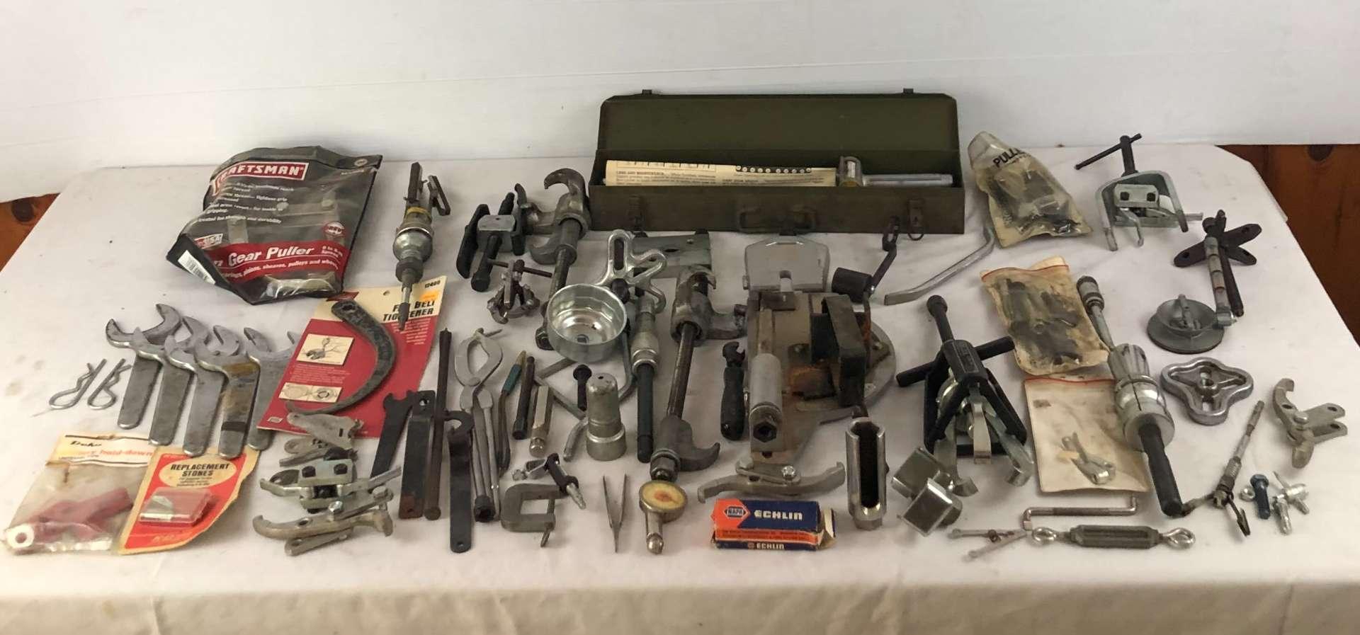 Lot # 185 - Large Lot of Various Automotive Tools (main image)