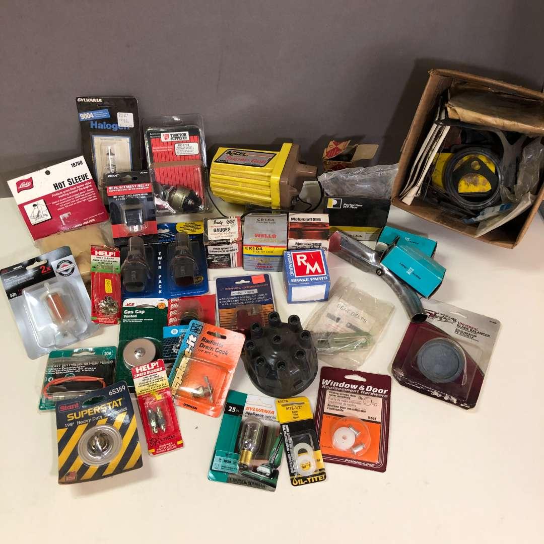 Lot # 197 - Lot of Various Automotive Parts (main image)