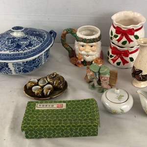 Lot # 242 - Lot of Various Pottery and Knick Knacks