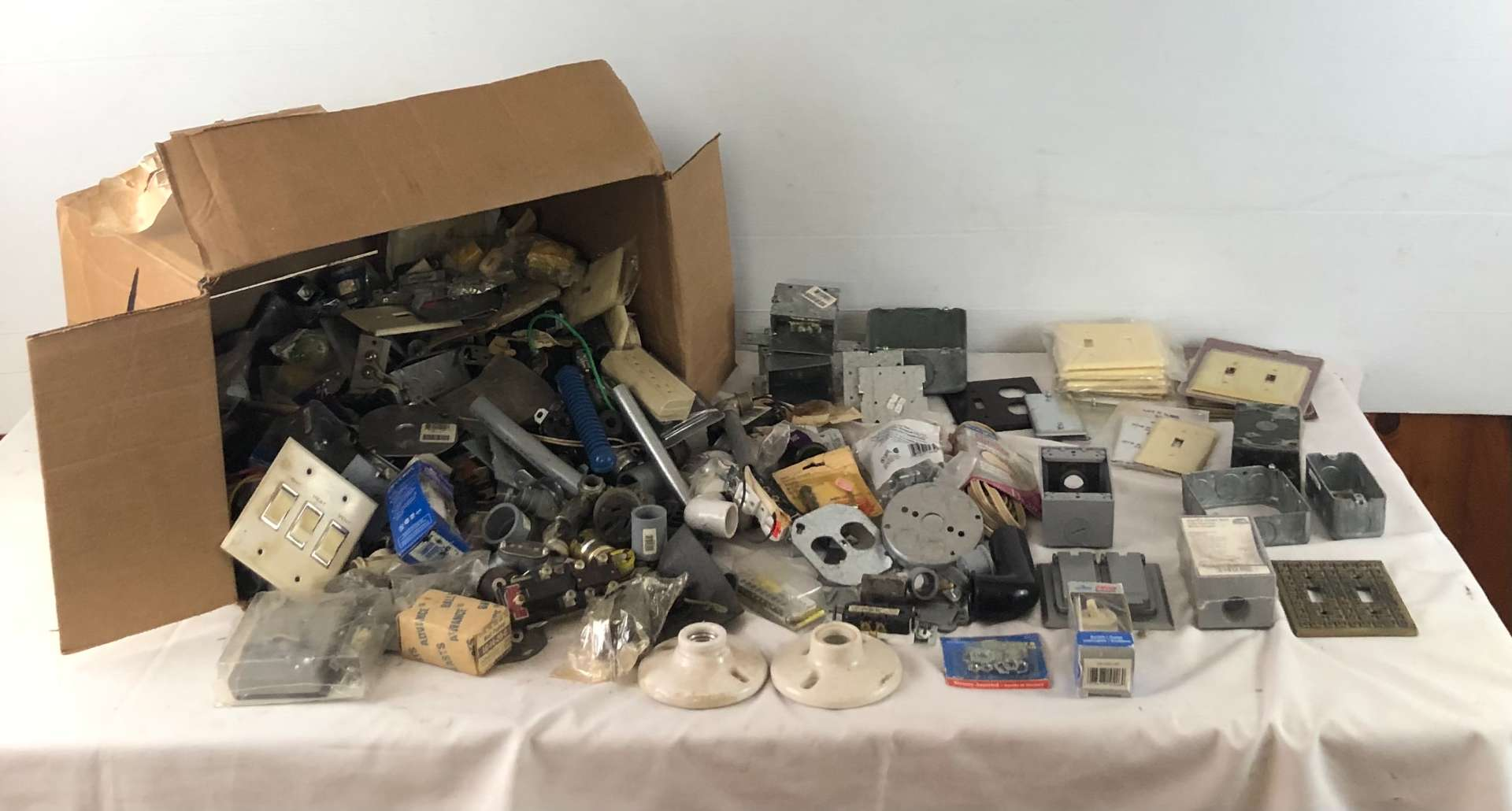 Lot # 252 - Large Lot of Home Electrical Supplies (main image)