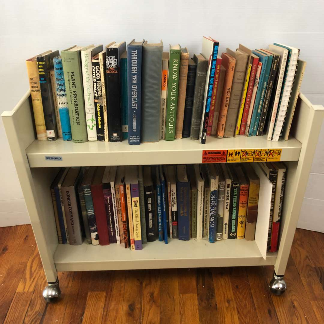 Lot # 253 - Lot of Various Books - Collection of UFO Books (main image)