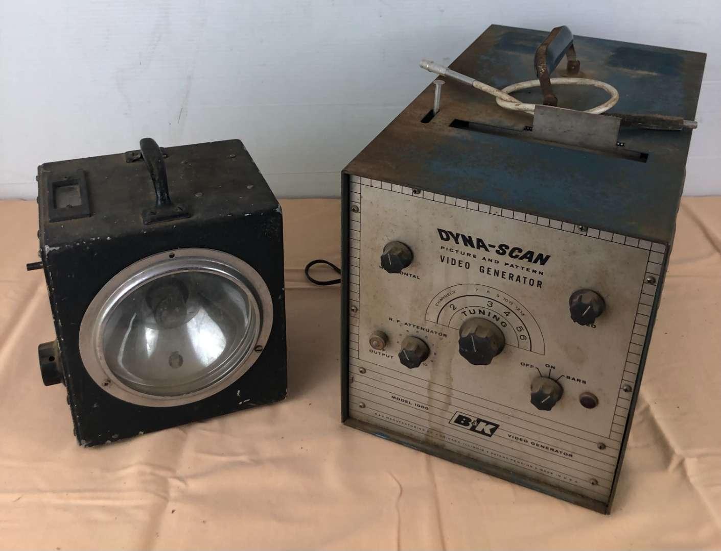 Lot # 261 - Strobotac Type 631-BL and B&K Dyna-Scan Video Generator (main image)