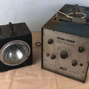 Lot # 261 - Strobotac Type 631-BL and B&K Dyna-Scan Video Generator
