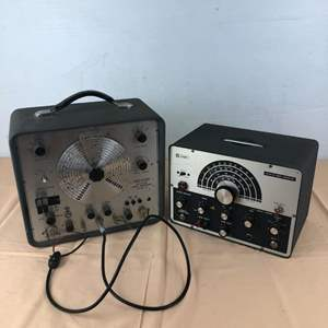 Lot # 263 - Knight KG-652 Sweep Generator and Precision Model E-400 Sweep Generator