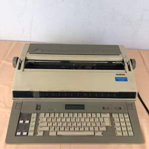 Lot # 267 - Brother Model EM-701 fx Electric Typewriter