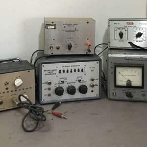 Lot # 268 - Lot of Various Vintage Equipment, Simpson, EICO, RCA, Harvard Apparatus Co, Hoffman