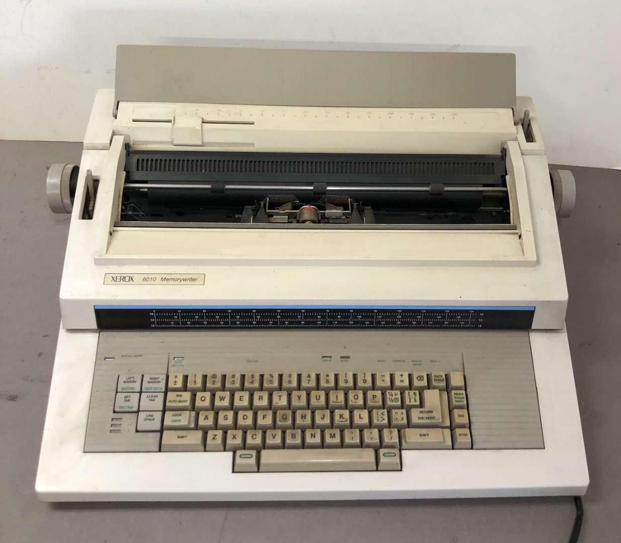 Lot # 272 - Xerox 6010 Memorywriter Electronic Typewriter (main image)