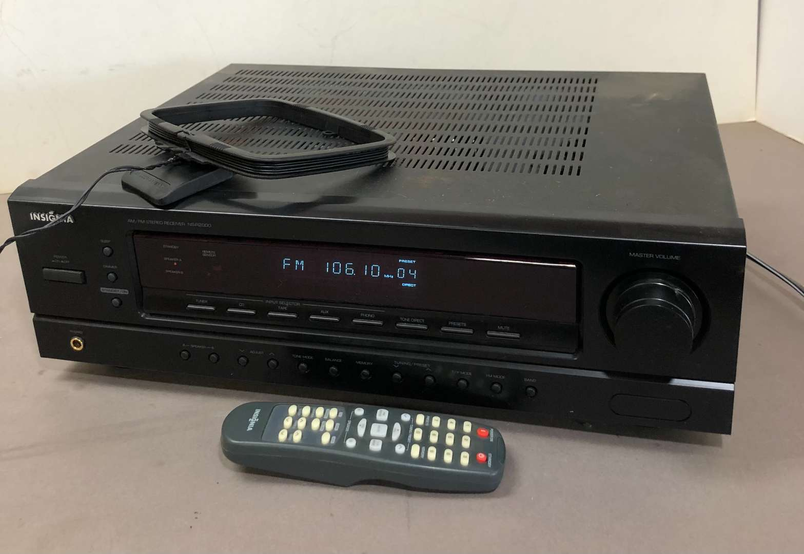 Lot # 274 - Insignia AM/FM Stereo Receiver NS-R2000 (main image)