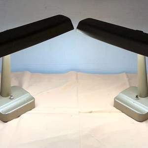 Lot # 277 - Two Underwriters Laboratories Portable Lamp Issue 60343
