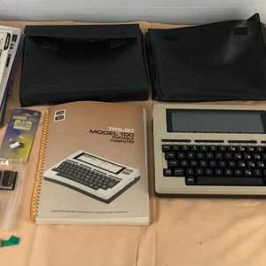 Lot # 279 - Radio Shack TRS-80 Model 100 Portable Computer