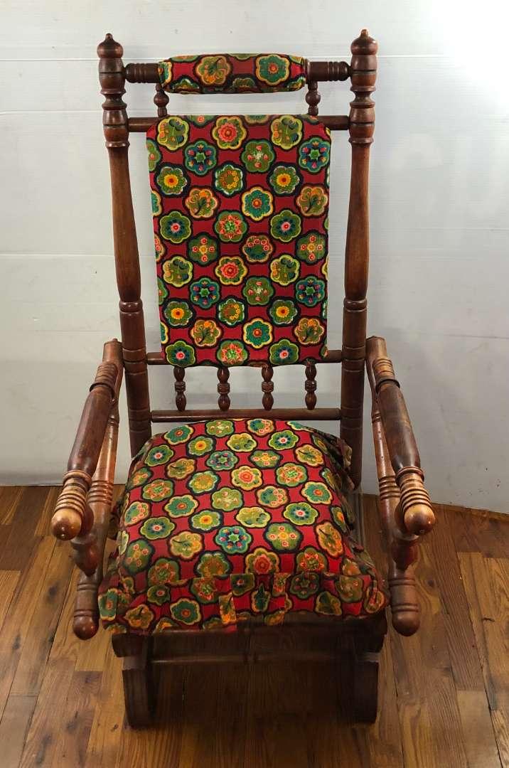 Lot # 291 - Antique Rocking Chair (main image)