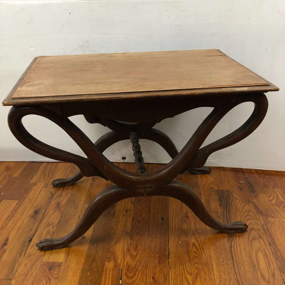 Lot # 292 - Small Vintage Side Table (main image)
