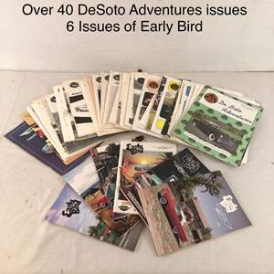 Lot # 49 - Lot of 40 DeSoto and 6 Thunderbird Magazines