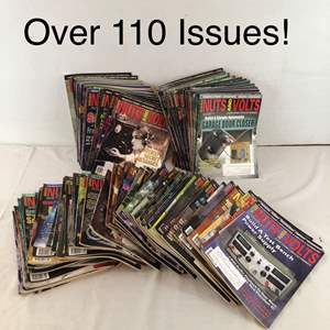 Lot # 50 - Lot of Over 110 Nuts and Volts Magazines
