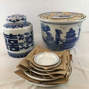 Lot # 51 - New Asian Plant Pots and Container