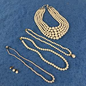 Lot # 58 - Pearl Necklaces