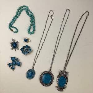 Lot # 59 - Faux Turquoise Jewelry