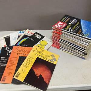 Lot # 96 - Lot of over 40 Sky and Telescope, Astronomy, IEEE Magazines