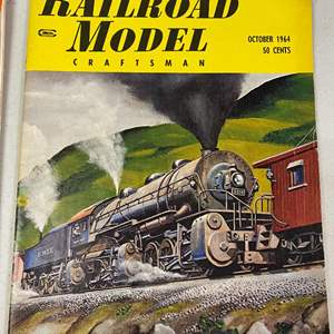 Lot # 100 - Lot of over 20 Trains Magazines and other model railroad magazines and books