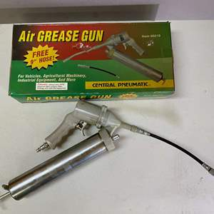 Lot # 105 - Lot of 2 Air Grease Guns