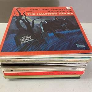 Lot # 111 - Lot of 33 Records, Disney, Sinatra, Glenn Miller