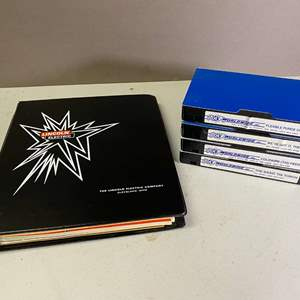 Lot # 116 - Welding How To VHS and Lincoln Electric Welding Paperwork