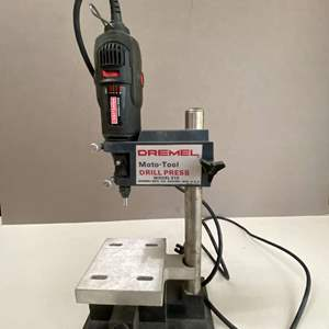 Lot # 119 - Craftsman Variable Speed Rotary Tool and Dremel Drill Press