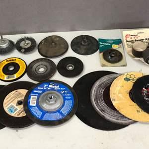 Lot # 177 - Lot of Various Grinding Wheels
