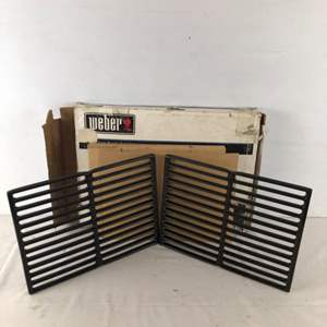 Lot # 195 - New Weber Grill Cooking Grates For Genesis A