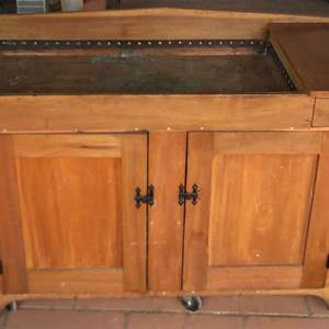 Lot # 222 - Vintage Dry Sink with Copper Lining