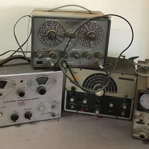 Lot # 260 - Lot of Equipment, Heathkit, EICO, Knight