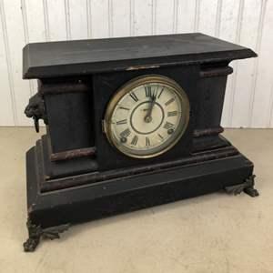 Lot # 298 - Antique Clock made by  E. Ingraham Company