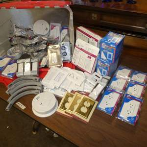 Lot # 47 - Home Utility Lot -Outlets, Switches, Outlet Covers and More!