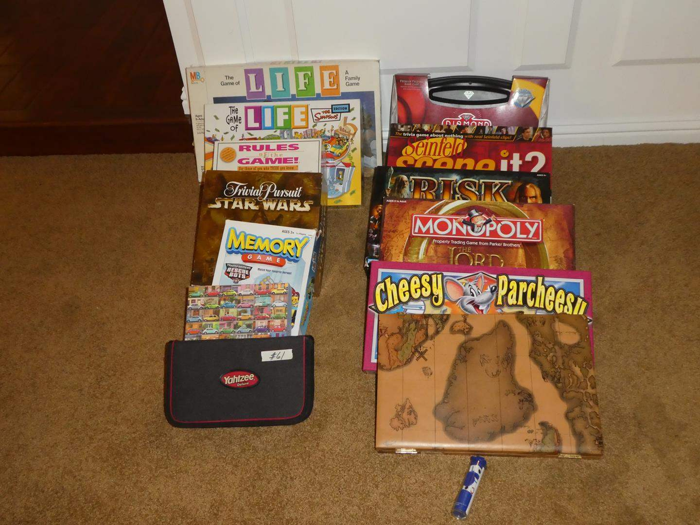 Lot # 61 - Family Board Games & Puzzle (main image)
