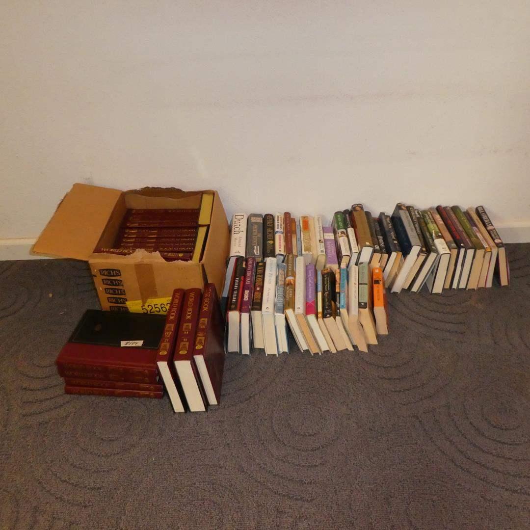 Lot # 104 - The World Book Encyclopedias & Assorted Books (main image)