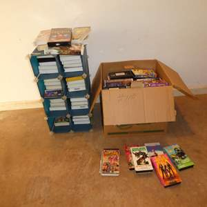 Lot # 110 - Large Lot of Kids & Family VHS Movies