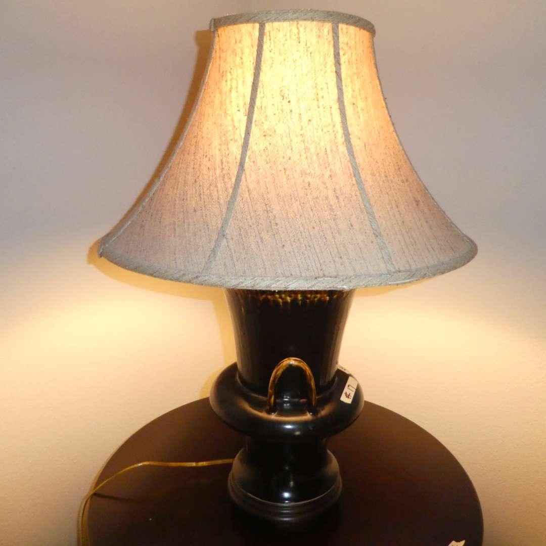 Lot # 17 - Unique Ceramic Table Lamp  (main image)