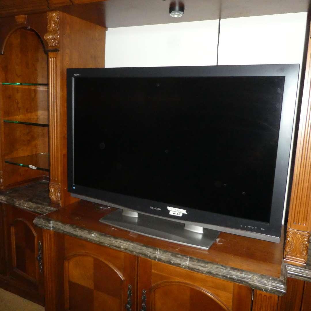 Lot # 23 - Sharp Aquos Liquid Crystal TV (Model LC-C5262U) (main image)