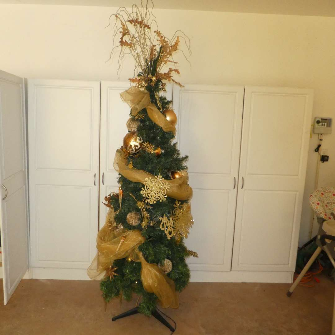 Lot # 42 - Huge Christmas Lot -Beautiful Decorated Artificial Tree, Multi Color Lights, Decor and Ornaments! (See All Photos) (main image)