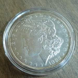 Lot # 89 - 1882-O Morgan Silver Dollar