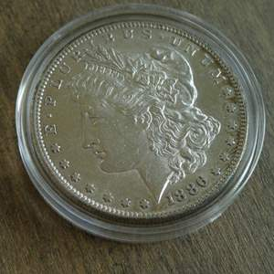 Lot # 103 - 1886-S Morgan Silver Dollar