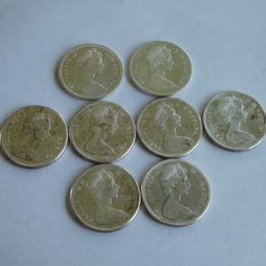 Lot # 136 - 1965-1967 Canadian Silver Dollar (8 count)