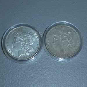 Lot # 33 - 1881-O US Mint - Morgan Dollar, 1883 US Mint - Morgan Dollar - Great Quality