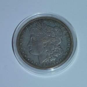 Lot # 39 - 1884-S US Mint - Morgan Silver Dollar - Very Rare