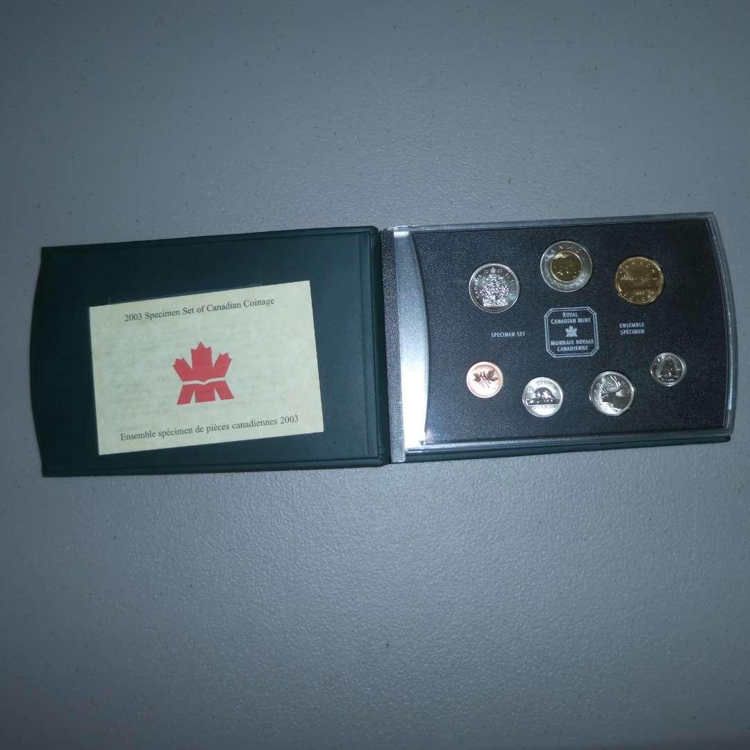Lot # 40 - 2003 - Royal Canadian Mint - Specimen Set of Canadian Coinage (main image)