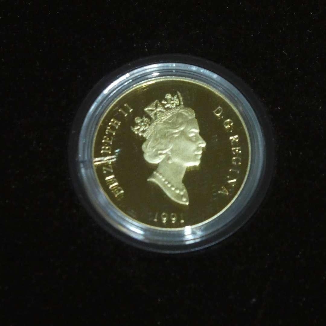 Lot # 46 - 1991 - Royal Canadian Mint - $100 Gold Coin 58.3% Gold, 0.47 oz (main image)